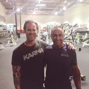 Me and my coach Charles Poliquin in Phoenix